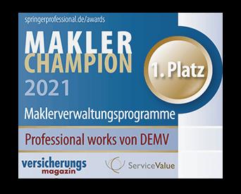 Makler-Champion Siegel 2021