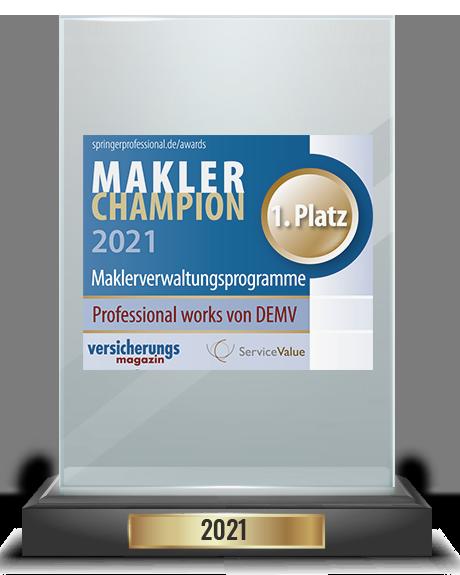 Makler-Champion Award 2021