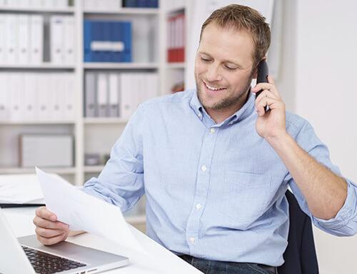 Ein Versicherungsmakler sollte geordnete Vermögensverhältnisse haben