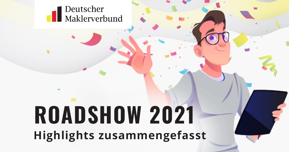 Roadshow 2021 Highlights – Weiterbildung, MVP, Deckungskonzept