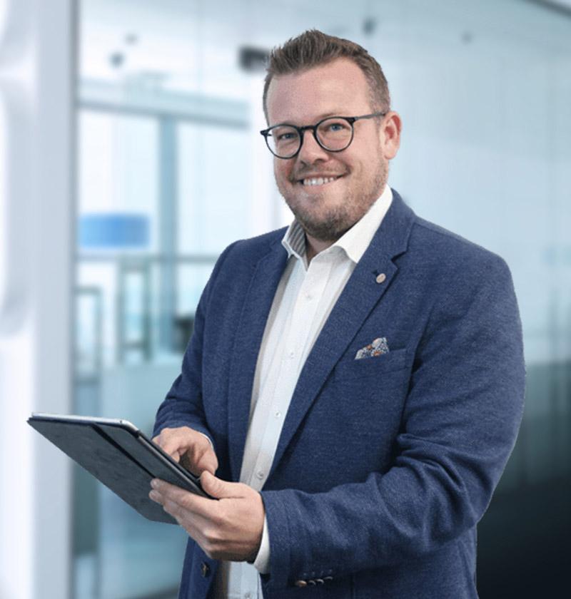 Maklerbetreuer Matthias Kaulen
